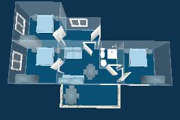 3 спальни + гостиная